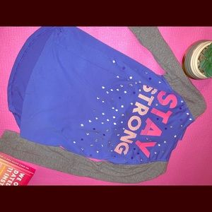 Girls 10 SO Long Sleeve Hooded Sweatshirt